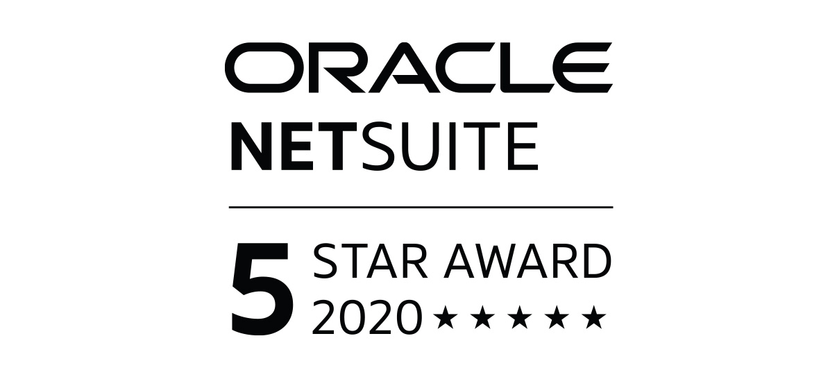 Oracle NetSuite 2019 5 Star Award