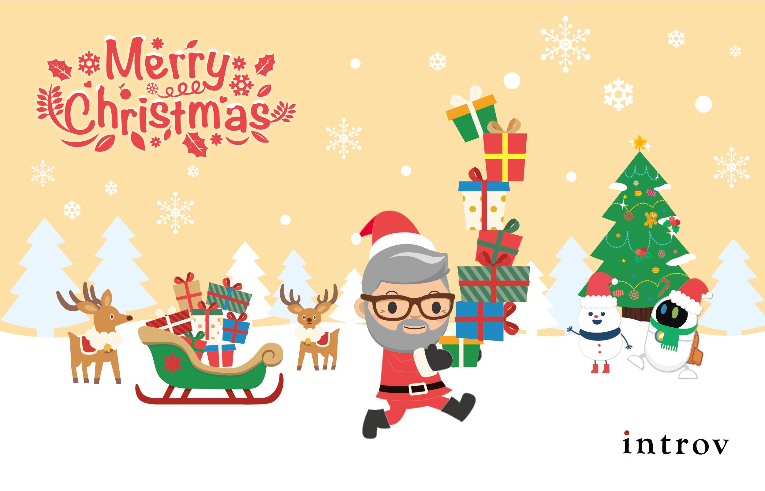 聖誕及新年快樂!