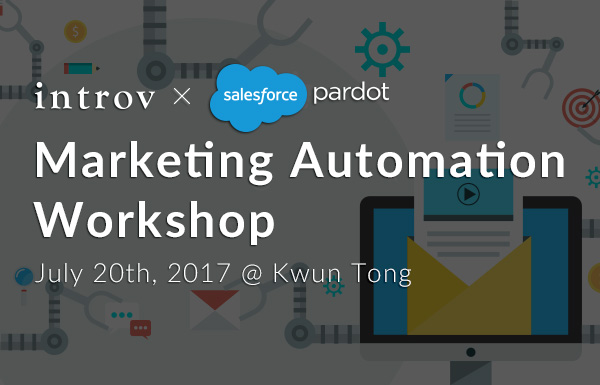 Marketing Automation Workshop – (July 20th, 2017)