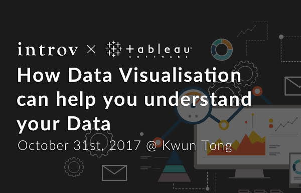Tableau Workshop: How Data Visualisation can help you understand your Data (October 31st, 2017)