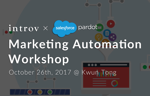 Marketing Automation Workshop – (October 26th, 2017)