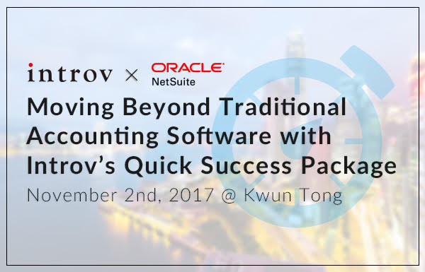 Moving Beyond Traditional Accounting Software with Introv's Quick Success Package (November 2nd, 2017)