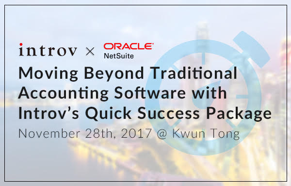 Moving Beyond Traditional Accounting Software with Introv's Quick Success Package (November 28th, 2017)