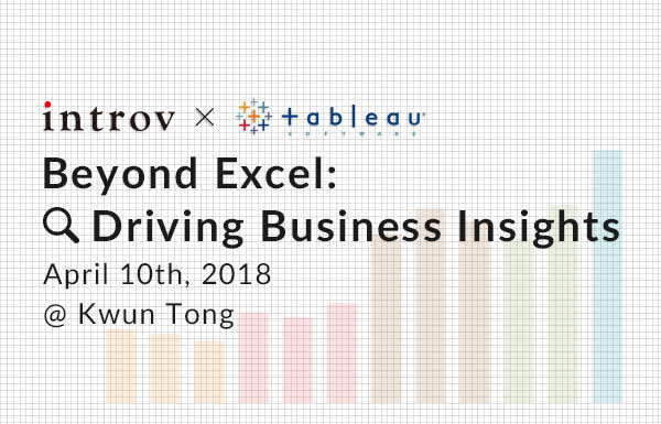 Tableau Workshop: Beyond Excel: Driving Business Insights (April 10th, 2018)