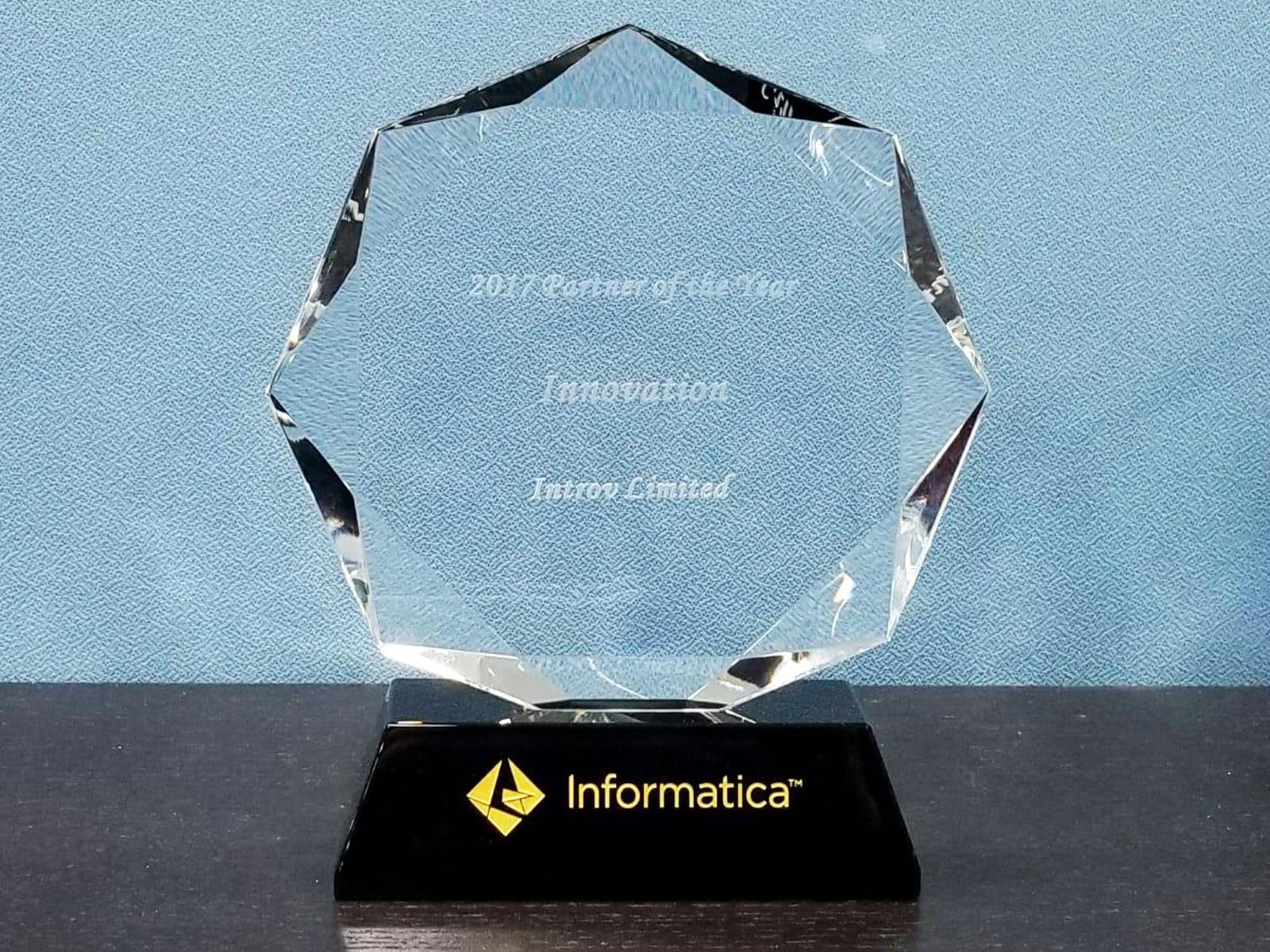 Introv wins Informatica Innovative Partner Award