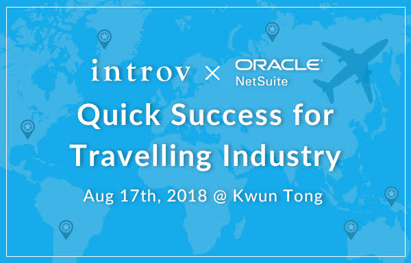 Quick Success Workshop for Travelling Industry (Aug 17th, 2018)