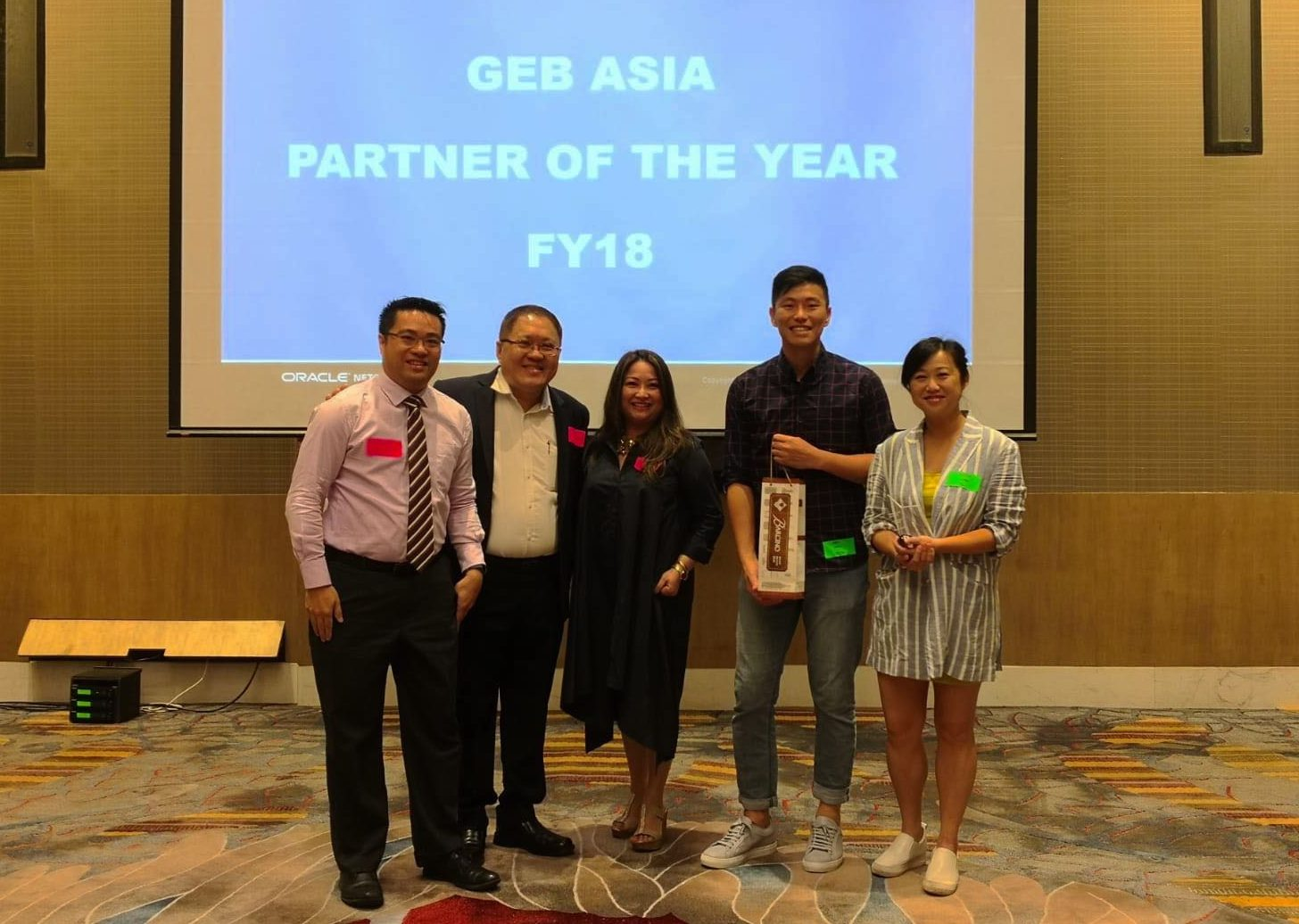 Dual Recognition Attained from NetSuite: 5-Star Partner & Asia Partner of the Year