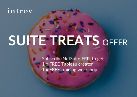 Suite Treats Offer for new NetSuite subscriptions