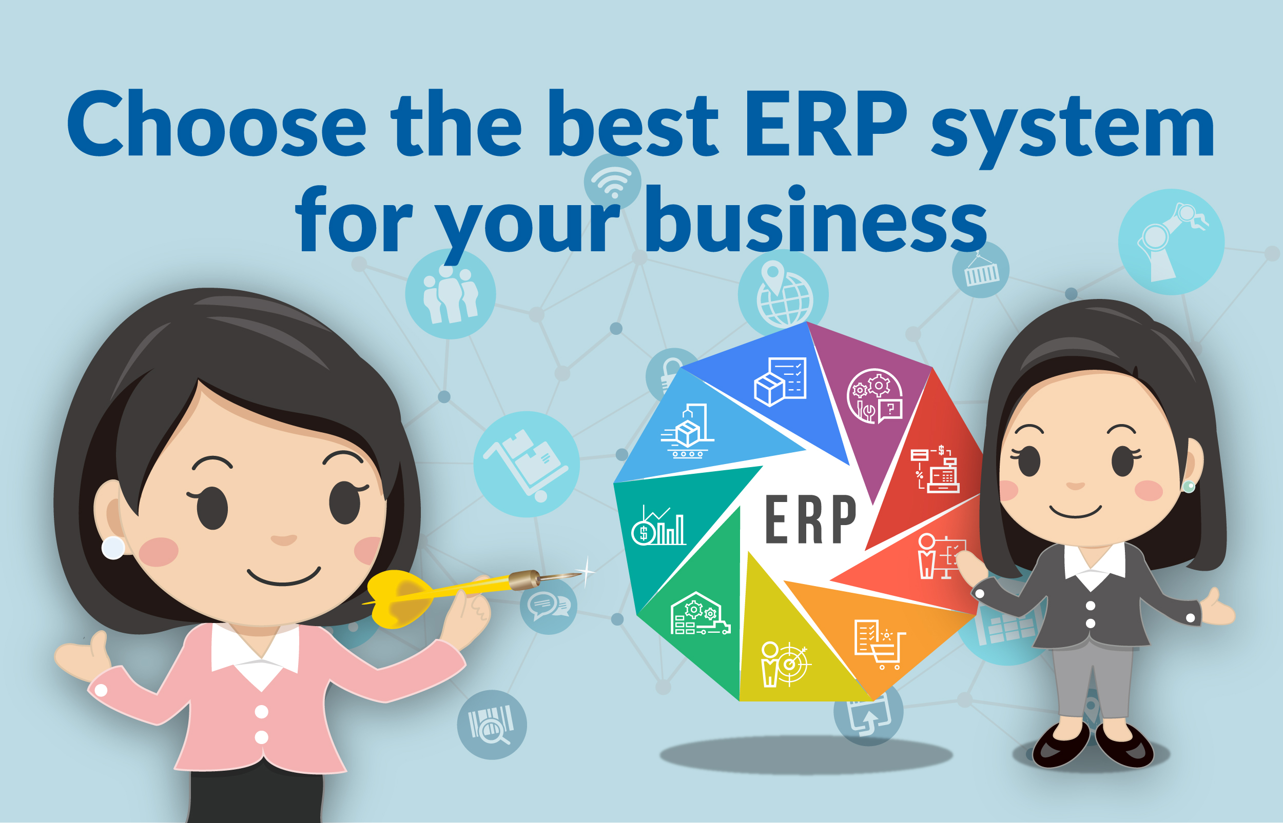 Choose the best ERP system for your business