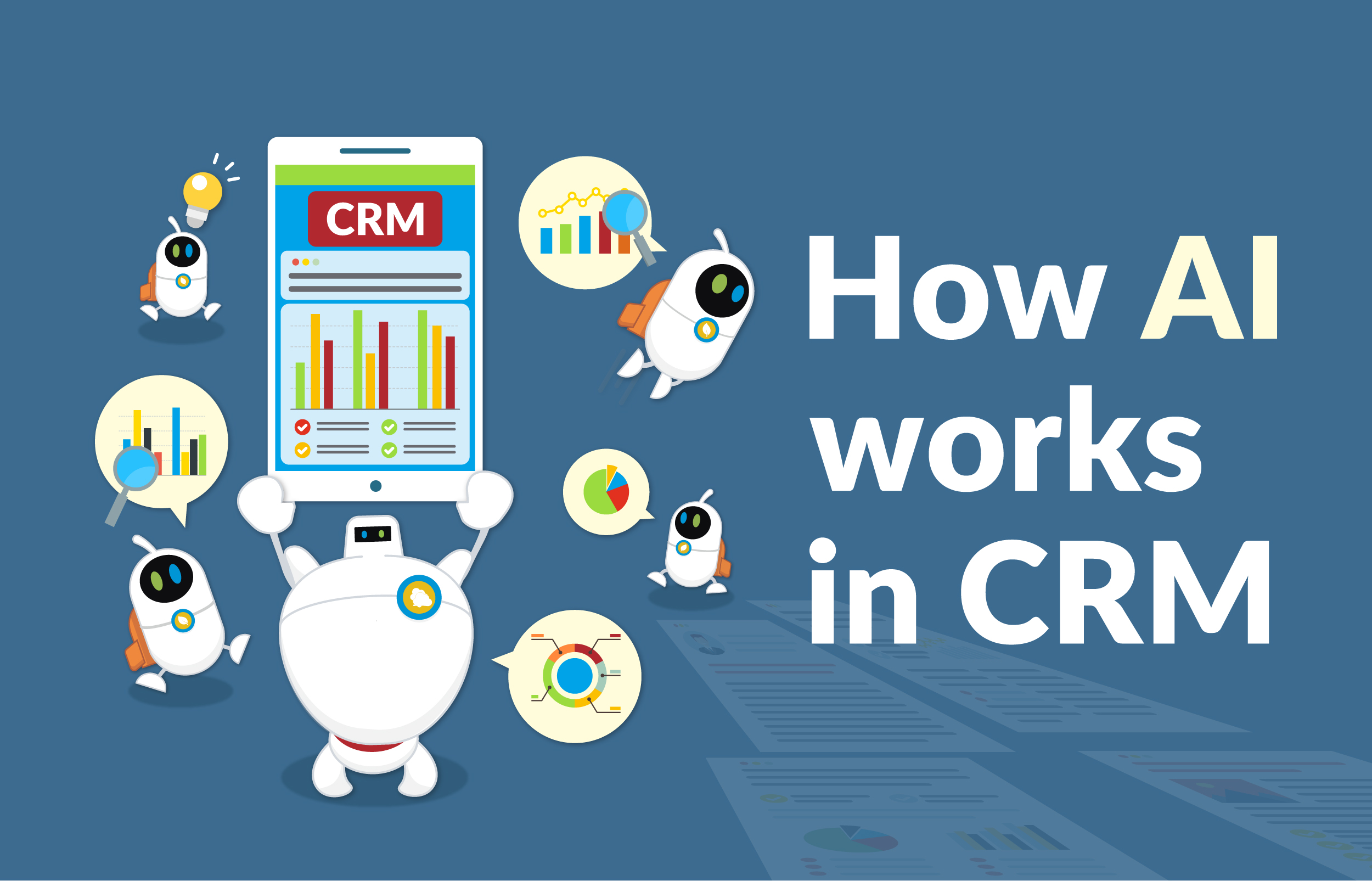 How AI Works in CRM?