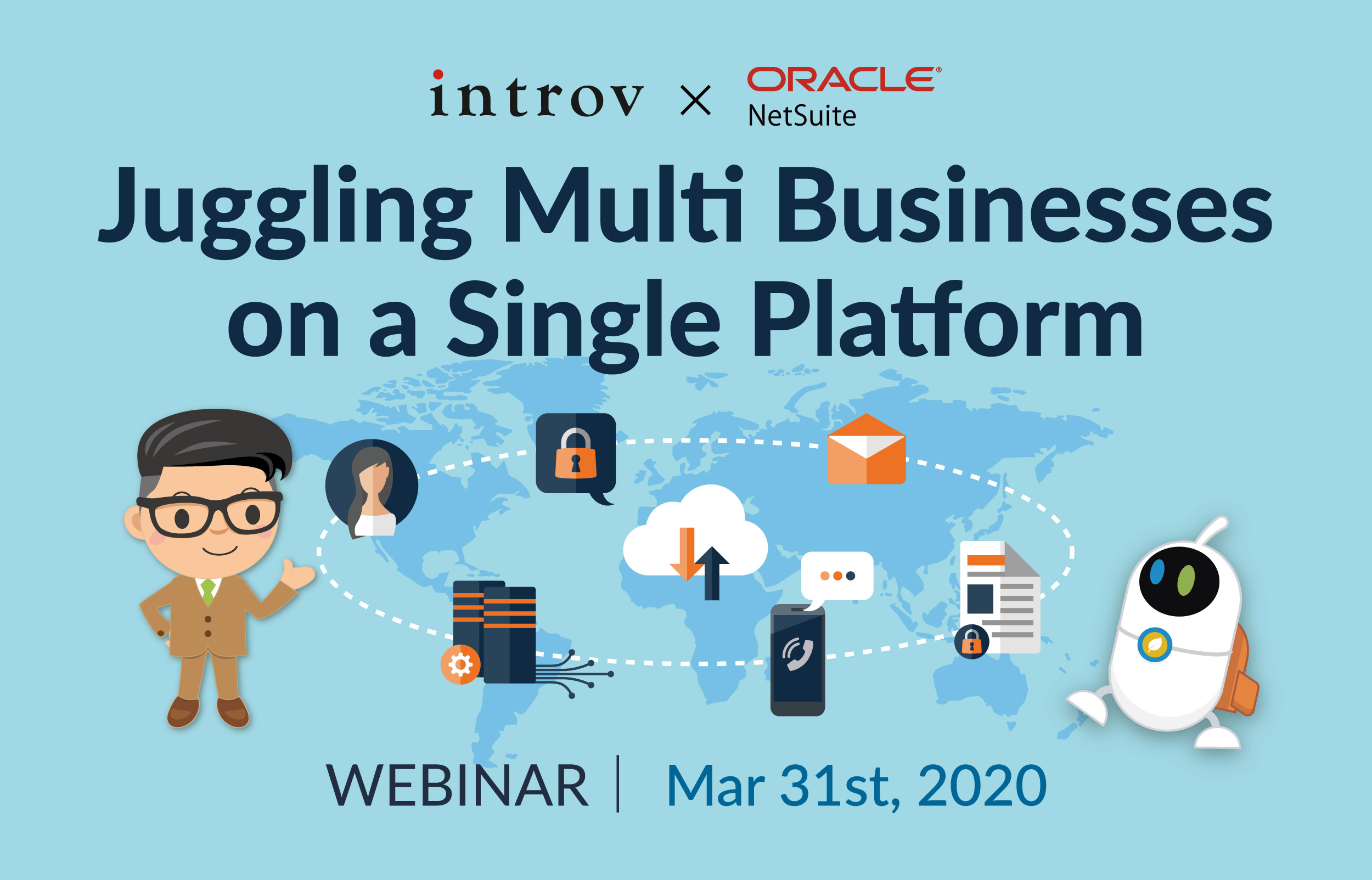 Webinar: Juggling Multi Businesses on a Single Platform (March 31st, 2020)