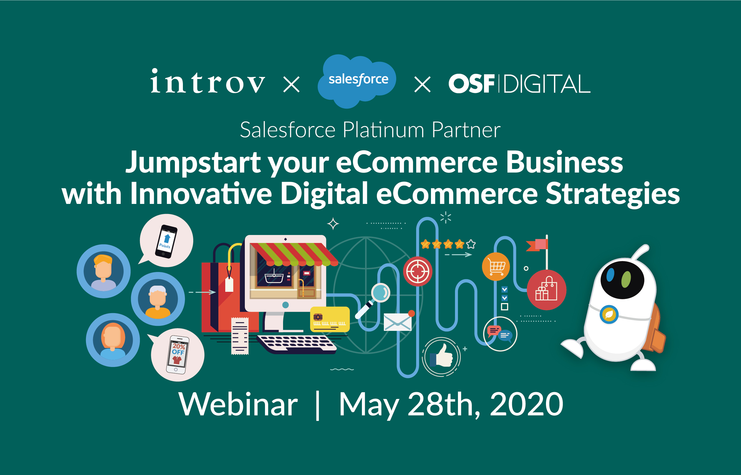 Webinar: Jumpstart your eCommerce Business with Innovative Digital eCommerce Strategies (May 28th, 2020)