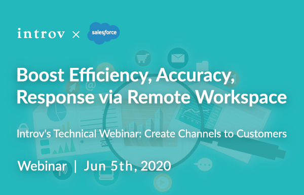 Introv's Technical Webinar: Create Channels to Customers (June 5th, 2020)