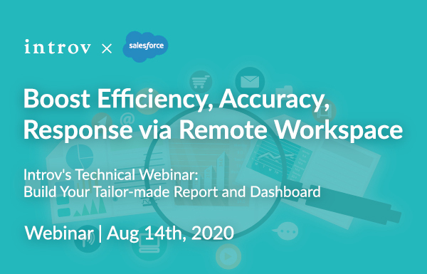Introv's Technical Webinar: Build Your Tailor-made Report and Dashboard (August 14th, 2020)