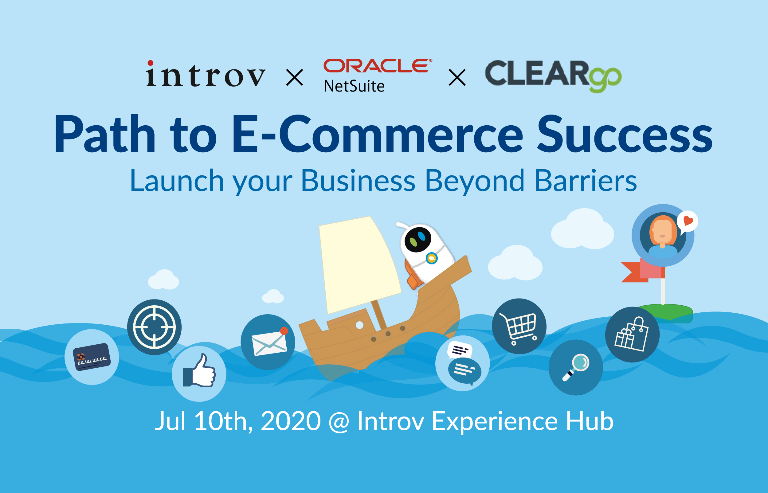[Webinar] Path to E-Commerce Success – Launch your Business Beyond Barriers (July 10th, 2020)