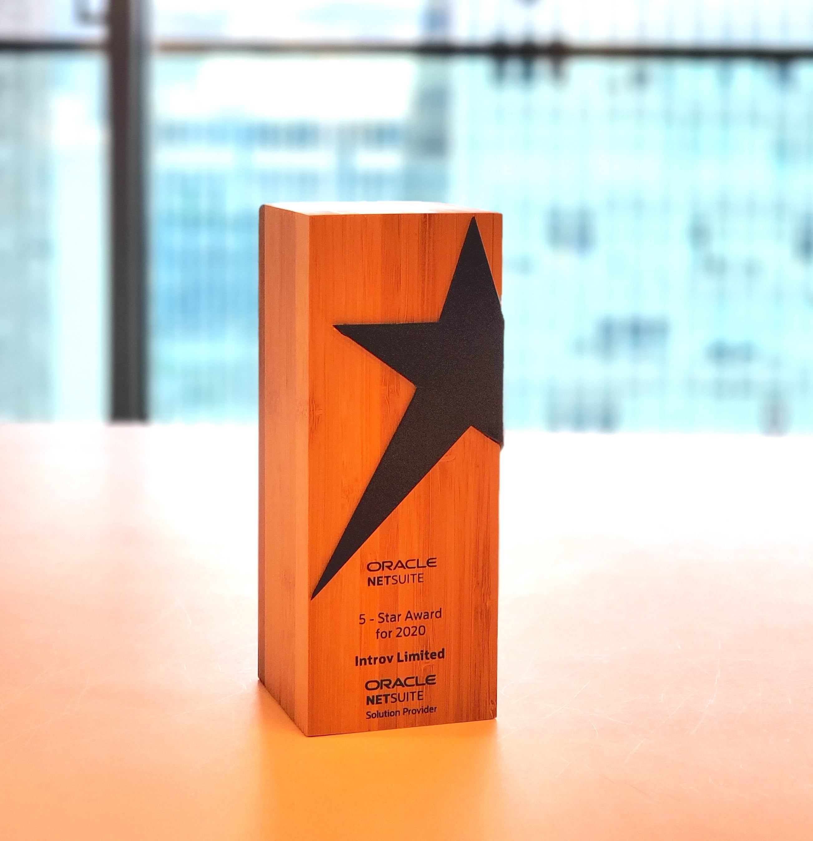 "Introv gained Oracle NetSuite ""5-Star Award"" for 3 Consecutive Years"