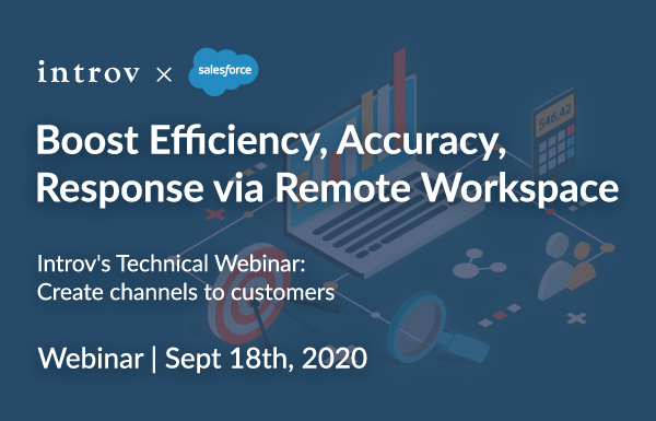 Introv's Technical Webinar: Create Channels to Customers (September 18th, 2020)