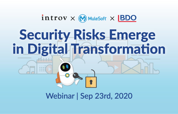 Webinar: Security Risks Emerge in Digital Transformation (September 23rd, 2020)