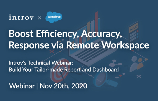 Introv's Technical Webinar: Build Your Tailor-made Report and Dashboard (November 20th, 2020)