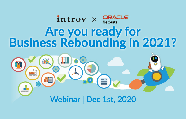 Webinar: Are you ready for Business Rebounding in 2021? (December 1st, 2020)