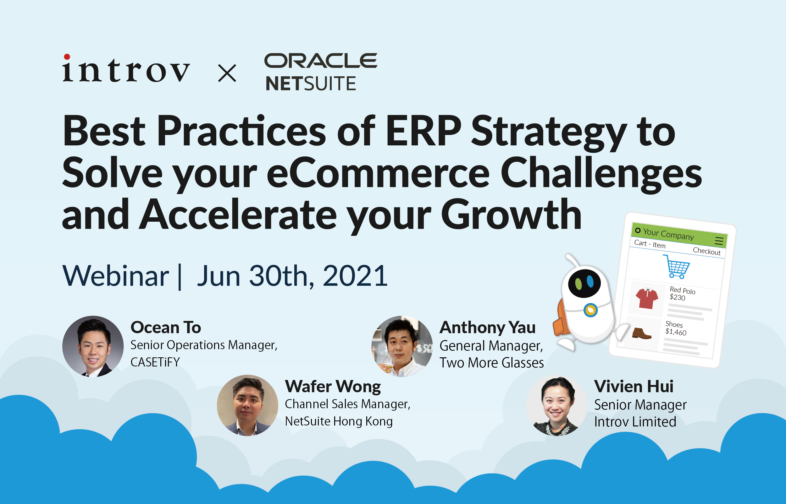 Webinar: Best Practices of ERP Strategy to Solve your eCommerce Challenges and Accelerate your Growth (June 30th, 2021)
