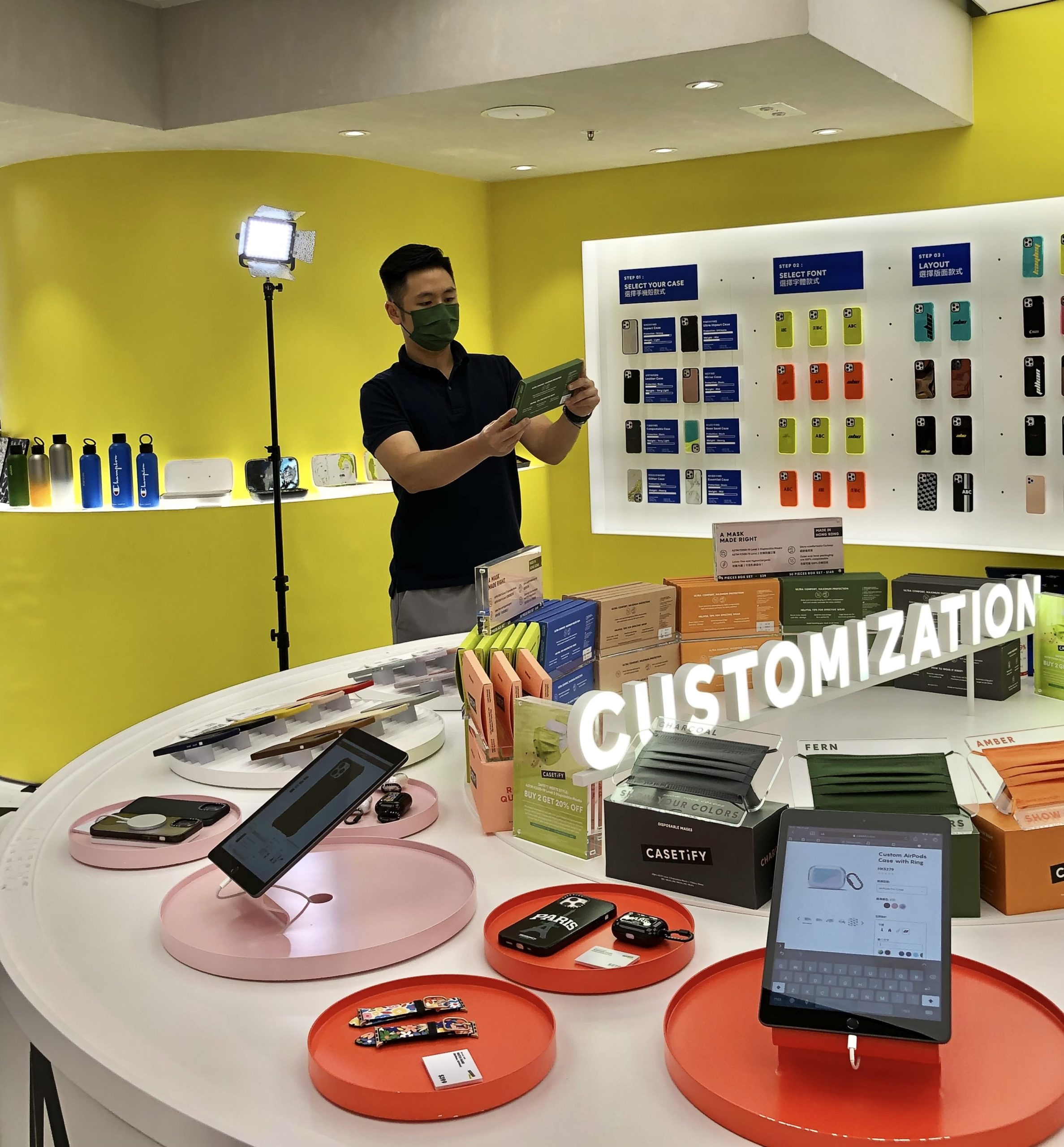 Behind the scene – CASETiFY Customer story video shooting