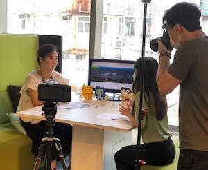 Behind the scene – HKMOB Award Winner video shooting