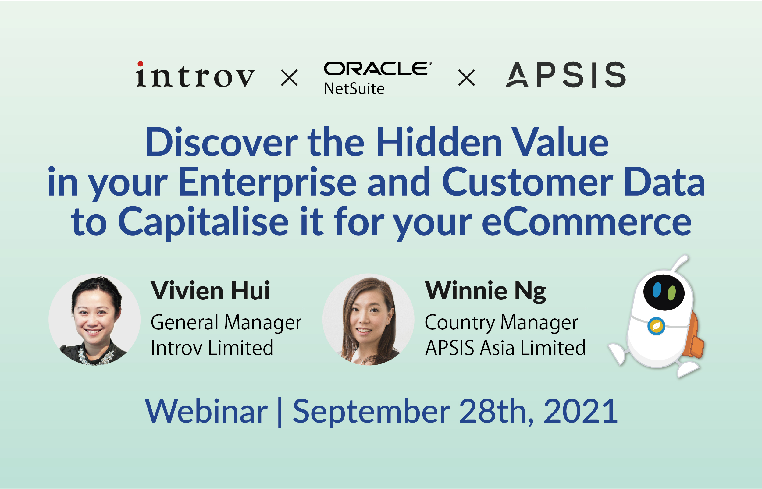 Webinar: Discover the Hidden Value in your Enterprise and Customer Data to Capitalise it for your eCommerce (September 28th, 2021)